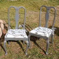 Chair Painting Service - Painted Chairs - Franklin Tennessee