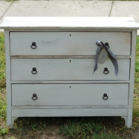 Piper Antique Low Dresser
