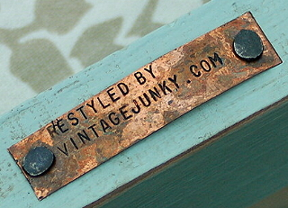 Restyled vintage furniture by Vintage Junky - Nashville Tennessee